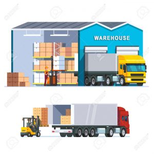 55251090-logistics-warehouse-with-loading-truck-and-working-forklift-modern-flat-style-vector-illustration-is